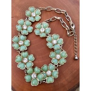 ✨ Turquoise Flower Necklace